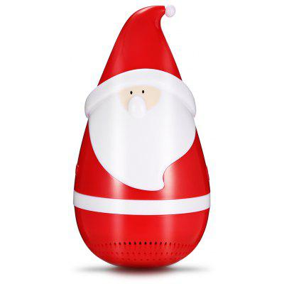 Santa Claus Tumbler Bluetooth Music Player with LED Light