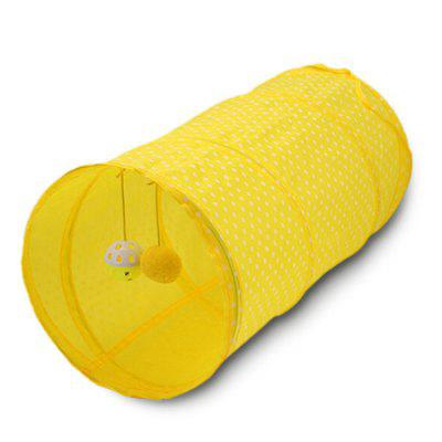 Fun Play Comfortable Cats Toy Tunnel 3pcsCat Toys<br>Fun Play Comfortable Cats Toy Tunnel 3pcs<br><br>For: Cats<br>Package Contents: 3 x Cat Tunnel<br>Package size (L x W x H): 26.00 x 26.00 x 3.00 cm / 10.24 x 10.24 x 1.18 inches<br>Package weight: 0.1250 kg<br>Product size (L x W x H): 25.00 x 25.00 x 50.00 cm / 9.84 x 9.84 x 19.69 inches<br>Product weight: 0.1200 kg<br>Type: Cat Toys