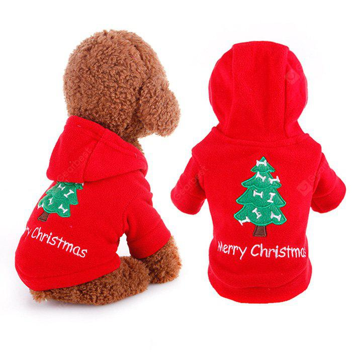 Cloth Sweater with Christmas Tree Style for Pet Dog