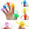 Plastic Finger Toy with Dinosaur Style 10PCS - COLORMIX