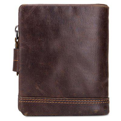 BULLCAPTAIN Men Trendy Genuine Leather Bifold Wallet with BuckleWallets<br>BULLCAPTAIN Men Trendy Genuine Leather Bifold Wallet with Buckle<br><br>Brand: BULLCAPTAIN<br>Features: Wearable<br>Gender: Men<br>Material: Leather<br>Package Size(L x W x H): 10.50 x 4.30 x 12.50 cm / 4.13 x 1.69 x 4.92 inches<br>Package weight: 0.0400 kg<br>Packing List: 1 x Wallet<br>Product Size(L x W x H): 9.50 x 3.30 x 11.50 cm / 3.74 x 1.3 x 4.53 inches<br>Product weight: 0.0200 kg<br>Style: Fashion, Casual<br>Type: Wallet