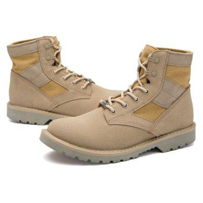 Male British Soft Tactical High Top Casual Martin Boots