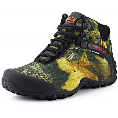 BAIDENG Maschili Camuffamento High Boot Scarpe da Alpinismo