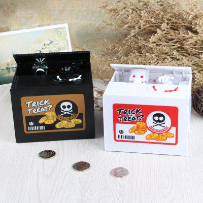 Creative Coins Change Container Money Box with SoundHome &amp; Garden<br>Creative Coins Change Container Money Box with Sound<br><br>Package Contents: 1 x Money Box<br>Package size (L x W x H): 15.00 x 12.50 x 12.50 cm / 5.91 x 4.92 x 4.92 inches<br>Package weight: 0.5000 kg<br>Product size (L x W x H): 12.00 x 9.00 x 10.00 cm / 4.72 x 3.54 x 3.94 inches<br>Product weight: 0.4000 kg<br>Style: Creative, Fashion, Gift