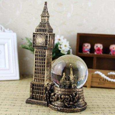 Vintage Crystal Ball with Light Art Craft Home DecorationCrafts<br>Vintage Crystal Ball with Light Art Craft Home Decoration<br><br>For: Friends, Lovers<br>Material: Resin<br>Package Contents: 1 x Crystal Ball Decoration<br>Package size (L x W x H): 26.00 x 15.00 x 10.00 cm / 10.24 x 5.91 x 3.94 inches<br>Package weight: 0.2000 kg<br>Product size (L x W x H): 22.50 x 13.50 x 5.00 cm / 8.86 x 5.31 x 1.97 inches<br>Product weight: 0.1500 kg<br>Usage: New Year, Birthday, Party