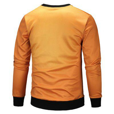 Male Round Collar Long-sleeve Sweatshirt for HalloweenMens Hoodies &amp; Sweatshirts<br>Male Round Collar Long-sleeve Sweatshirt for Halloween<br><br>Package Contents: 1 x Sweatshirt<br>Package size: 38.00 x 28.00 x 2.00 cm / 14.96 x 11.02 x 0.79 inches<br>Package weight: 0.3800 kg<br>Product weight: 0.3500 kg