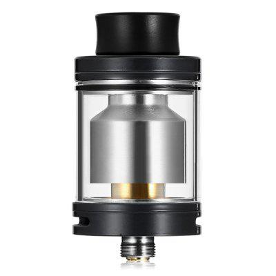 ADVKEN CP RTARebuildable Atomizers<br>ADVKEN CP RTA<br><br>Brand: ADVKEN<br>Material: Stainless Steel, Glass<br>Model: CP<br>Overall Diameter: 24mm<br>Package Contents: 1 x Atomizer, 1 x Accessory Bag, 1 x 316SS Heating Wire, 1 x Glass Tank<br>Package size (L x W x H): 8.00 x 8.00 x 3.80 cm / 3.15 x 3.15 x 1.5 inches<br>Package weight: 0.1060 kg<br>Product size (L x W x H): 2.40 x 2.40 x 4.50 cm / 0.94 x 0.94 x 1.77 inches<br>Product weight: 0.0430 kg<br>Rebuildable Atomizer: RBA,RTA<br>Tank Capacity: 3.5ml<br>Thread: 510<br>Type: Rebuildable Tanks, Rebuildable Atomizer