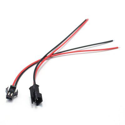 10 Pairs SM 2.54mm 2 Pins Plug Male / Female Wire ConnectorMulti Rotor Parts<br>10 Pairs SM 2.54mm 2 Pins Plug Male / Female Wire Connector<br><br>Package Contents: 10 x Pair of Cables<br>Package size (L x W x H): 10.00 x 5.00 x 2.00 cm / 3.94 x 1.97 x 0.79 inches<br>Package weight: 0.0400 kg<br>Product size (L x W x H): 60.00 x 0.80 x 0.50 cm / 23.62 x 0.31 x 0.2 inches<br>Product weight: 0.0350 kg<br>Type: Cable
