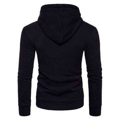 Simple Hoodie Sweatshirt with HoodMens Hoodies &amp; Sweatshirts<br>Simple Hoodie Sweatshirt with Hood<br><br>Clothes Type: Hoodie<br>Material: Cotton, Polyester<br>Package Contents: 1 x Sweatshirt<br>Package size: 40.00 x 30.00 x 4.00 cm / 15.75 x 11.81 x 1.57 inches<br>Package weight: 0.4800 kg<br>Pattern: Solid Color<br>Product weight: 0.4500 kg<br>Style: Casual<br>Thickness: Regular