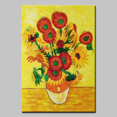 Buy COLORMIX Mintura MT160520 Sunflower Canvas Oil Painting for $55.78 in GearBest store