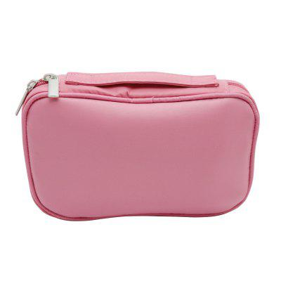 Female Portable Makeup Brush Container Cosmetic BagMakeup Brushes &amp; Tools<br>Female Portable Makeup Brush Container Cosmetic Bag<br><br>Occasion: Holiday, Daily, Causal<br>Package Contents: 1 x Cosmetic Bag<br>Package size (L x W x H): 26.00 x 17.00 x 3.50 cm / 10.24 x 6.69 x 1.38 inches<br>Package weight: 0.2000 kg<br>Product size (L x W x H): 36.00 x 26.00 x 2.50 cm / 14.17 x 10.24 x 0.98 inches<br>Product weight: 0.1900 kg<br>Season: All seasons<br>Style: Popular, Charming