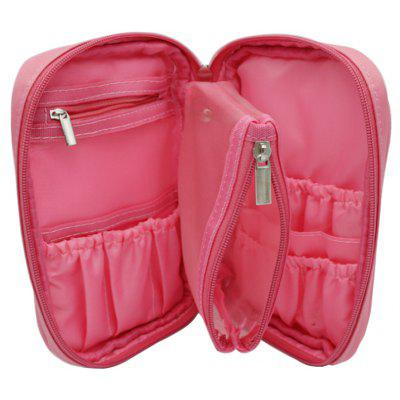 Female Portable Makeup Brush Container Cosmetic Bag