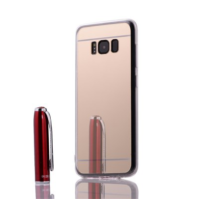 Electroplate Mirror Protective Rear Case for Samsung Galaxy S8Samsung S Series<br>Electroplate Mirror Protective Rear Case for Samsung Galaxy S8<br><br>Compatible with: Samsung Galaxy S8<br>Features: Back Cover<br>For: Samsung Mobile Phone<br>Material: PC, TPU<br>Package Contents: 1 x Protective Rear Case<br>Package size (L x W x H): 16.00 x 8.00 x 1.00 cm / 6.3 x 3.15 x 0.39 inches<br>Package weight: 0.0350 kg<br>Product size (L x W x H): 14.90 x 7.00 x 0.90 cm / 5.87 x 2.76 x 0.35 inches<br>Product weight: 0.0150 kg<br>Style: Novelty, Lightweight, Ultra Slim, Special Design