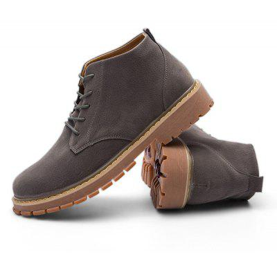 Male Nostalgic Soft Ankle Top Casual BootsMens Boots<br>Male Nostalgic Soft Ankle Top Casual Boots<br><br>Closure Type: Lace-Up<br>Contents: 1 x Pair of Shoes, 1 x Box<br>Function: Slip Resistant<br>Materials: Rubber, Microfiber Leather<br>Occasion: Tea Party, Sports, Shopping, Riding, Outdoor Clothing, Party, Casual, Daily, Holiday, Office<br>Outsole Material: Rubber<br>Package Size ( L x W x H ): 31.00 x 21.00 x 11.00 cm / 12.2 x 8.27 x 4.33 inches<br>Package Weights: 1.05kg<br>Pattern Type: Solid<br>Seasons: Autumn,Spring<br>Style: Modern, Leisure, Fashion, Comfortable, Casual<br>Toe Shape: Round Toe<br>Type: Boots<br>Upper Material: Microfiber Leather