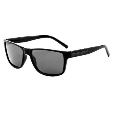 TOMYE P6027 Classic Square Frame Polarized Male Sunglasses