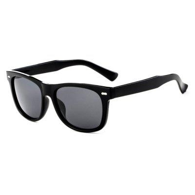 TOMYE P6032 Classic Square Frame Male Polarized Sunglasses