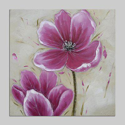 Mintura MT160630 Hand Painted Flower Canvas Oil Painting