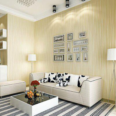 Plain Color 3D Stripe Non-woven Wall Sticker