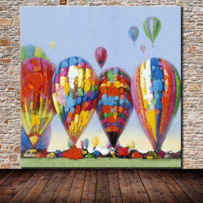 Mintura MT160628 Hot Air Balloon Canvas Oil PaintingOil Paintings<br>Mintura MT160628 Hot Air Balloon Canvas Oil Painting<br><br>Brand: Mintura<br>Craft: Oil Painting<br>Form: One Panel<br>Material: Canvas<br>Package Contents: 1 x Painting<br>Package size (L x W x H): 86.00 x 5.00 x 5.00 cm / 33.86 x 1.97 x 1.97 inches<br>Package weight: 0.4500 kg<br>Painting: Without Inner Frame<br>Product size (L x W x H): 75.00 x 75.00 x 0.10 cm / 29.53 x 29.53 x 0.04 inches<br>Product weight: 0.4000 kg<br>Shape: Square<br>Style: Scenery / Landscape, Modern/Contemporary<br>Subjects: Landscape<br>Suitable Space: Bedroom,Game Room,Hallway,Hotel,Living Room