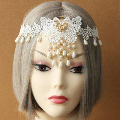 Pearl Flower Pattern Hair Ornament