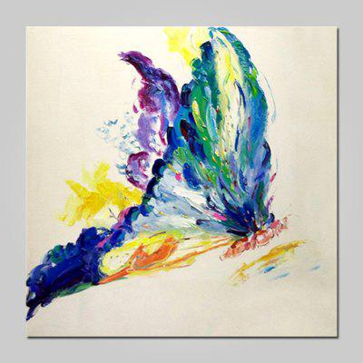 Buy COLORMIX Mintura Oil Painting Hand-painted Modern Abstract Butterfly for $53.90 in GearBest store