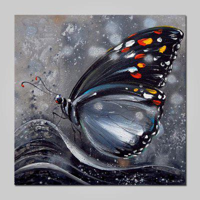 Mintura MT160648 Oil Painting Hand-painted Butterfly Pattern