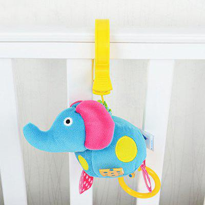 Buy COLORMIX ELEPHANT Hang Decoration Toy with Built-in Vibrator for Baby Bed / Car for $8.11 in GearBest store