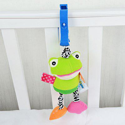 Buy COLORMIX FROG Hang Decoration Toy with Built-in Vibrator for Baby Bed / Car for $8.11 in GearBest store