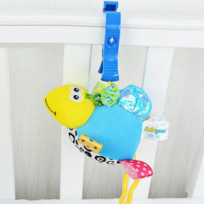 Buy COLORMIX TORTOISE Hang Decoration Toy with Built-in Vibrator for Baby Bed / Car for $8.11 in GearBest store
