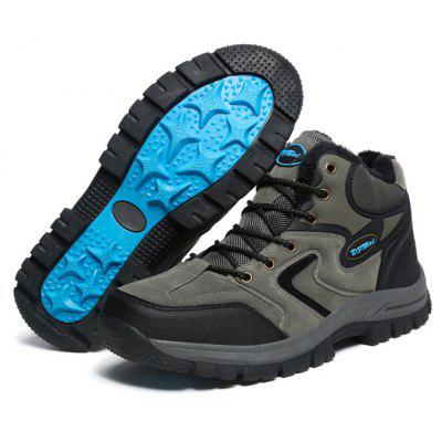 Female Outdoor Versatile Soft Breathable Hiking SneakersWomens Sneakers<br>Female Outdoor Versatile Soft Breathable Hiking Sneakers<br><br>Closure Type: Lace-Up<br>Contents: 1 x Pair of Shoes, 1 x Box, 1 x Dustproof Paper<br>Decoration: Split Joint<br>Function: Slip Resistant<br>Materials: Suede, Rubber<br>Occasion: Sports, Riding, Outdoor Clothing, Holiday, Daily, Casual, Running<br>Outsole Material: Rubber<br>Package Size ( L x W x H ): 33.00 x 22.00 x 11.00 cm / 12.99 x 8.66 x 4.33 inches<br>Package Weights: 0.95kg<br>Seasons: Autumn,Spring,Winter<br>Style: Modern, Leisure, Fashion, Comfortable, Casual<br>Toe Shape: Round Toe<br>Type: Sports Shoes<br>Upper Material: Suede