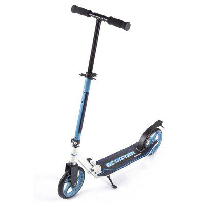 Adults 20.5cm 2 Wheels Kick Scooter Aluminum Alloy Frame