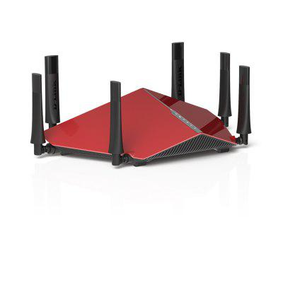 D - Link DIR - 890L WiFi RouterWireless Routers<br>D - Link DIR - 890L WiFi Router<br><br>Brand: D-Link<br>Built-in VPN: Support<br>DC Port: 5.5 x 2.1<br>Firewall Settings: Support<br>Freq: 50Hz-60Hz<br>Gain dBi: 5dBi<br>LAN Ports: 4 ports<br>Language: English<br>Max. LAN Data Rate: 1000Mbps<br>Model: DIR - 890L<br>Network Protocols: IEEE 802.11a,IEEE 802.11ac,IEEE 802.11b,IEEE 802.11g,IEEE 802.11n<br>Package size: 40.00 x 26.00 x 12.00 cm / 15.75 x 10.24 x 4.72 inches<br>Package weight: 3.2000 kg<br>Packing List: 1 x Router, 1 x EU Plug Power Adapter, 1 x English User Manual<br>Product size: 38.50 x 25.00 x 10.00 cm / 15.16 x 9.84 x 3.94 inches<br>Product weight: 3.0600 kg<br>Quantity of Antenna: 6<br>Router Connectivity Type: USB, Ethernet, Wireless<br>Speed of Ethernet Port: 1000Mbps<br>Transmission Rate: 3200Mbps<br>Type: Router<br>WiFi Distance: 700M<br>Wireless Security: WPA2-PSK, 64/128 Bit WEP, WPA-Enterprise, WPA-PSK, WPA2-Enterprise, WPS<br>Wireless Standard: Wireless AC<br>Working Voltage: 12V 1.5A