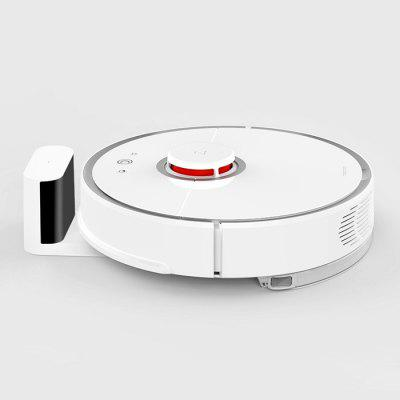 roborock S50 Smart Robot Vacuum Cleaner - WHITE ROBOROCK S50 SECOND-GENERATION INTERNATIONAL VERSION EU PLUG + ajándék Xiaomi Mi Band 2 okoskarkötő