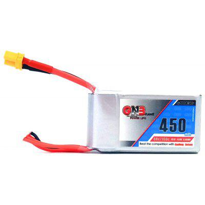 GAONENG 14.8V 450mAh 80C LiPo Battery with XT60 Plug
