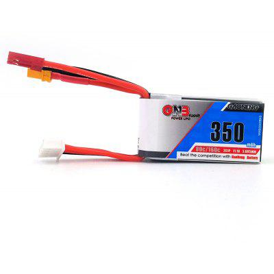 11.1V 350mAh 80C LiPo Battery with JST XT30 Plugs