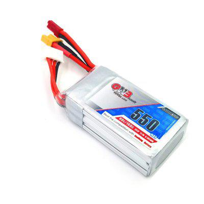 11.1V 550mAh 80C LiPo Battery with JST XT30 Plugs coal player battery 503040 550mah