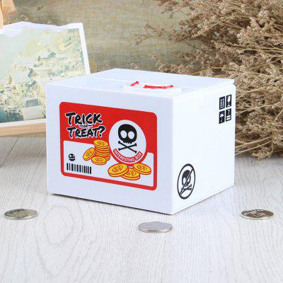 Creative Coins Change Container Money Box with SoundStorage Bags<br>Creative Coins Change Container Money Box with Sound<br><br>Package Contents: 1 x Money Box<br>Package size (L x W x H): 15.00 x 12.50 x 12.50 cm / 5.91 x 4.92 x 4.92 inches<br>Package weight: 0.5000 kg<br>Product size (L x W x H): 12.00 x 9.00 x 10.00 cm / 4.72 x 3.54 x 3.94 inches<br>Product weight: 0.4000 kg<br>Style: Creative, Fashion, Gift