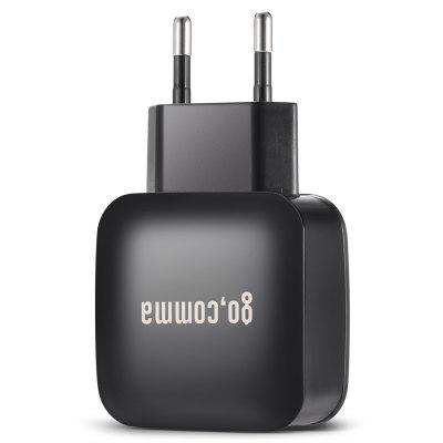 Gocomma QC 3.0 Power Adapter ChargerChargers &amp; Cables<br>Gocomma QC 3.0 Power Adapter Charger<br><br>Brand: Gocomma<br>Input: 100 - 240V, 50 / 60Hz, 0.35A<br>Material ( Cable&amp;Adapter): ABS<br>Output: 5V 3A / 9V 2A / 12V 1.6A<br>Package Contents: 1 x Power Adapter<br>Package size (L x W x H): 17.00 x 7.40 x 4.60 cm / 6.69 x 2.91 x 1.81 inches<br>Package weight: 0.0680 kg<br>Plug: EU plug<br>Product size (L x W x H): 8.60 x 4.70 x 2.40 cm / 3.39 x 1.85 x 0.94 inches<br>Product weight: 0.0450 kg<br>Type: Adapters