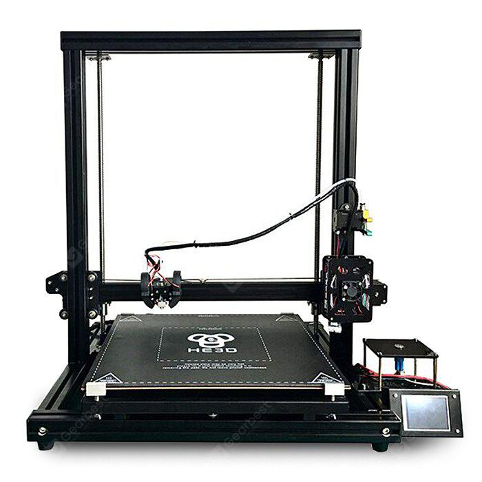 HE3D H500 DIY 3D Printer 400 x 400 x 500mm Printing 110V - BLACK US