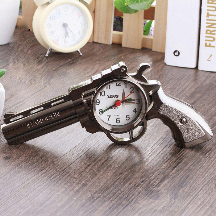 Gun Design Clock Exquisite Ornament Home Decor