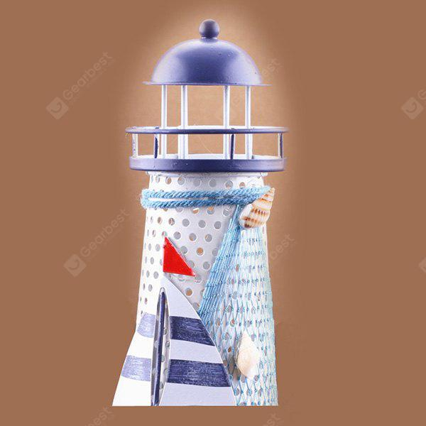 Fashionable Lighthouse Design Ornament with LED Light