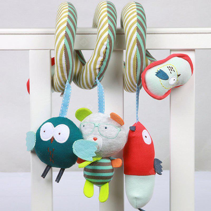 Cute Owl Style Spiral Toy with Bell / BB Paging