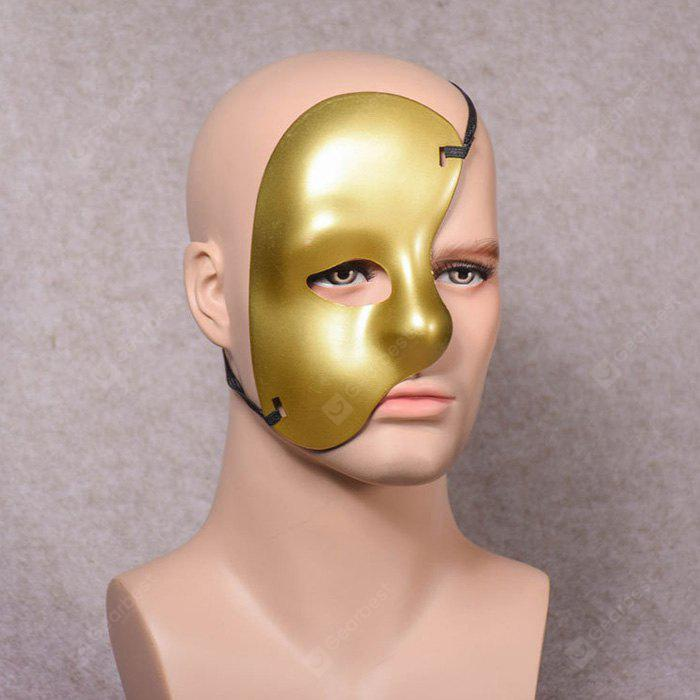 Halloween Half Face One Eyed Mask 1PC