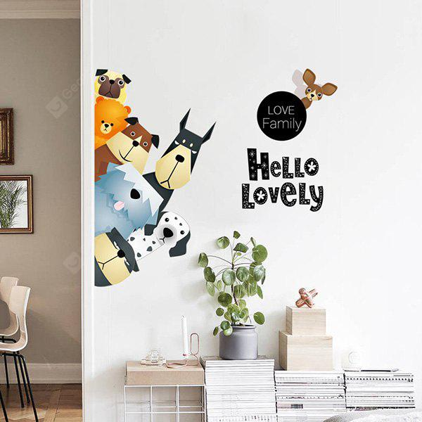 Wall Sticker Cartoon Pattern for Home Decoration