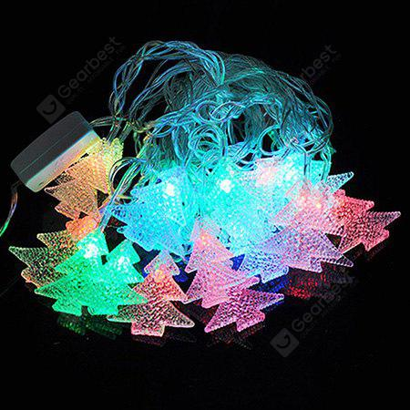 Christmas Tree Colored 20 LEDs String Light  AC 220V