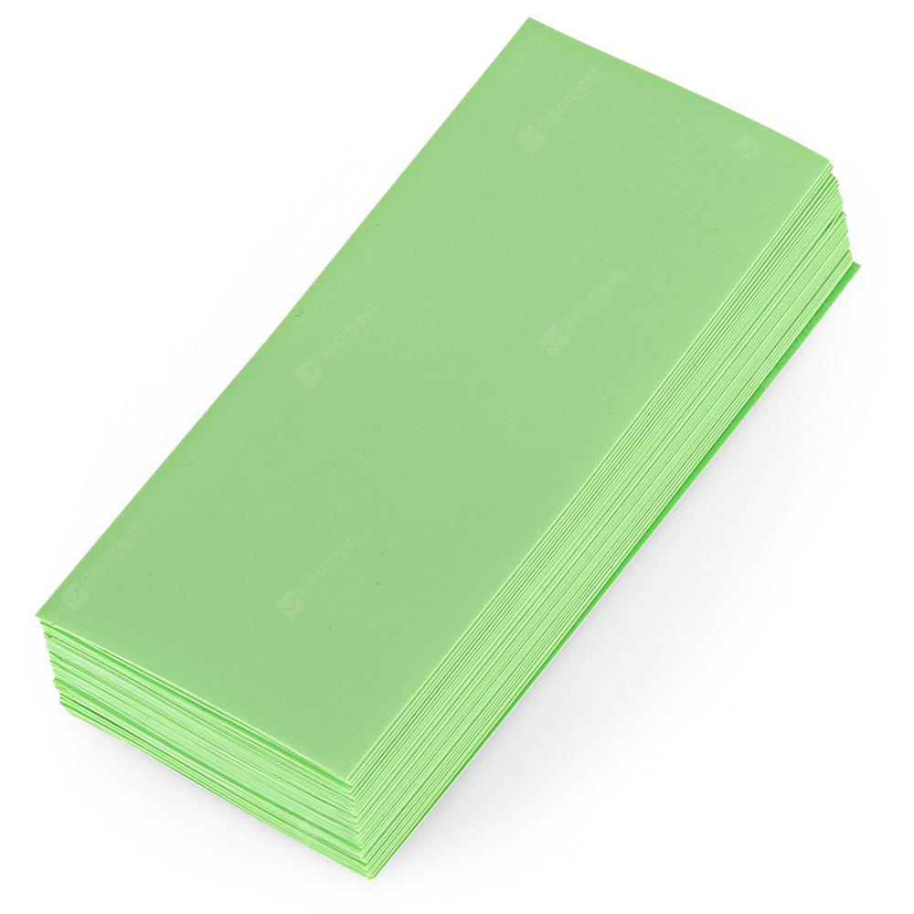 Buy PVC Heat Shrinkable Tubing 18650 Battery 10APPLE GREEN