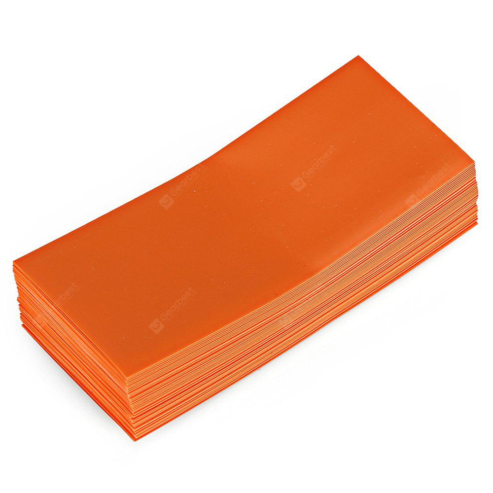 Buy PVC Heat Shrinkable Tubing 18650 Battery 10ORANGE