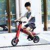 Onebot T8 Folding Electric Bike with 8.7Ah Battery EU / US Plug - PEACH RED