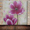 Mintura MT160630 Hand Painted Flower Canvas Oil Painting - COLORMIX