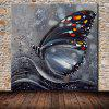 Mintura MT160648 Oil Painting Hand-painted Butterfly Pattern - COLORMIX